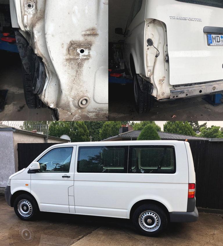 VW-T5-Karosserieinstandsetzung